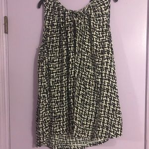 Black and White Top from Ana - Size 3x